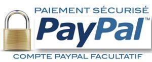 paiement securisé paypal